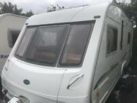 Bessacarr cameo twin axle fixed bed 2005 touring caravan