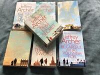 Jeffrey Archer. 7 x Clifton Chronicles