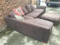 Barker and Stonehouse Corner Sofa! Free Delivery!
