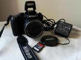 Selling my Nikon Coolpix P500 - perfect condition (£90)