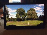 LG 42 inch HD Plasma TV Freeview Digital ★ New Remote ★ 3 x HDMI ★ 600Hz ★ USB ★ PC ★ Gaming