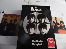 UNUSED PACK OF BEATLES PLAYING CARDS 2008 EDITION