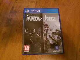 Ps4 game rainbow six seige
