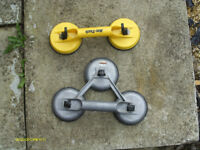 Am tech 2 pad glass lifter and Veribor 3 pad lifter