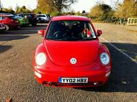 Beautyful beetle 1.6 13 months Mot drives superb £999 px wel
