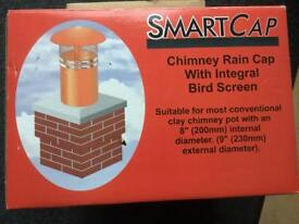 New -Smart cap chimney rain cap
