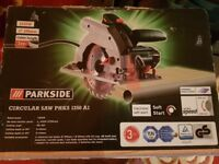 Brand New Parkside Circular Saw PHKS 1350 A1