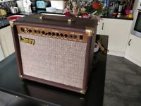 Laney LA30C acoustic guitar amp. All functions work, cosmetically fair.