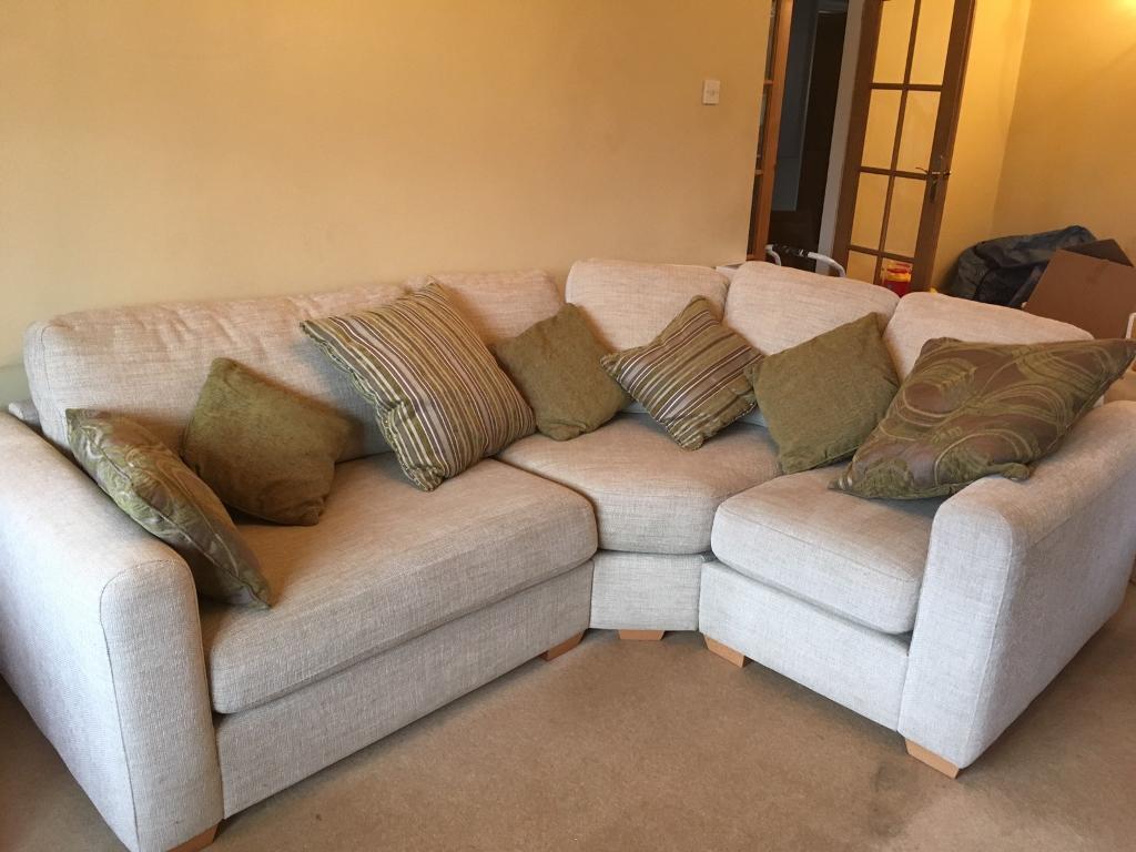 Salamanca corner sofa, door way to value, DFS