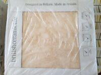 BathStore Hampstead Light Beige Ceramic Floor Tiles - 3 boxes
