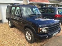 53 plate Land Rover Discovery TD5 for sale