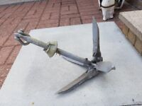 Small Boat Anchor to hold you steady while fishing.
