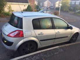 Renault meganne spares/repairs or possible fix