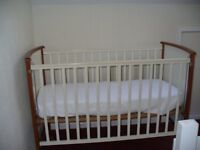 Baby's cot 4' x 2' for sale