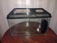 2 x Fish Tanks / Aquarium + 2 x filter