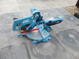 mitre saw and spare blade