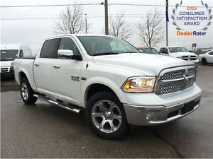 2017 Ram 1500 DEMO* ONLY 3537 KMS*LARAMIE*4X4*CREW*SUNROOF*NAVIG