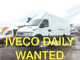 IVECO DAILY VAN WANTED ANY CONDITION