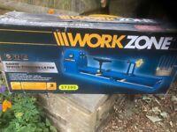 400w workzone wood turning lathe.
