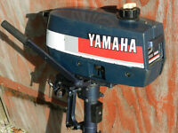 Yamaha Lightweight 2hp Outboard Engine Dinghy Boat Motor