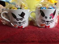 Easter cup and choc