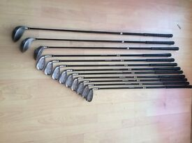 Full set hippo golf clubs with stand bag