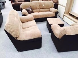 50% OFF RRP ON ALL OUR SOFA PRODUCTS**GET A CLASSIC DESIGN SOFA IN LEATHER OR FABRIC