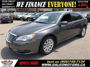 2014 Chrysler 200 LX|BLUETOOTH| ONLY 51, 000KM!| CERTIFIED