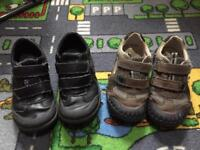4 x boys shoes and sandals