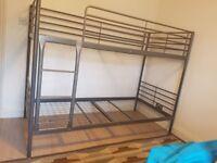 Metallic Bunk Bed Single