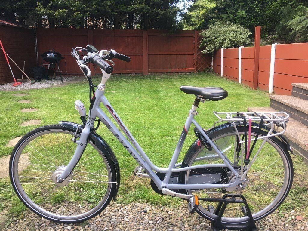 Beste Electric Dutch Bike Batavus Fuego e-go Hybrid City Urban ebike NE-19