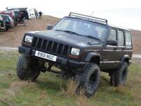 Jeep Cherokee 4.0 auto ££££ spent may swap must be auto off roader Automatic