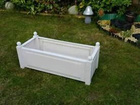 New plastic garden troff