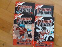 4 DENNIS THE MENACE PAPERBACKS