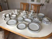 """Adams """"Sharon"""" Dinner & Tea Service. Buyer collects. Downsizing - needs a good home!"""
