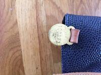 Vintage Mulberry blue shoulder bag