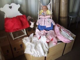 Baby Annabelle Doll and accessories