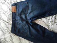 Levi's 513 jeans have been worn size 34x34