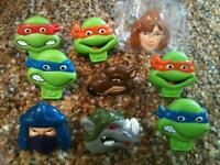 1990 teenage mutant ninja turtles toy rings from shreddies $40