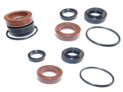 Hochdruckreiniger Teile (Dichtsatz Reparatursatz 3x4 Teile f. 16mm Hochdruckpumpe Kärcher HD HDS 3 Kolben)