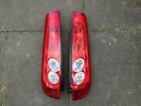 Ford fiesta zetec s mk6 rear lights 3 door