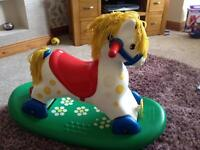 Little rocking horse baby toddler toy