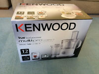 Kenwood FPP220 Multipro Compact Food Processor, White - BRAND NEW WITH TAGS