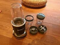 Nutribullet and accessories as new