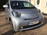 Toyota IQ2 1.0l CVT / Auto Very Low Mileage, Excellent Condition, 17k Miles, Low Tax & Insurance