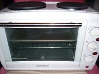 OVEN WITH HOBS NEW