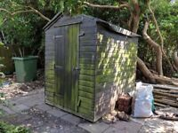 5x7' shed. 8mm tongue & groove. Collection only