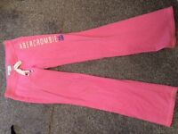 Abercrombie pink tracksuit! £40