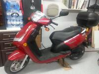 Peugeot 49 cc gas scooter