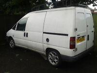 Breaking Fiat Scudo, Citroën Dispatch, Peugeot Expert 2001. All parts available